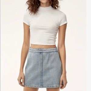 Wilfred Free Jean Skirt 6 NWT